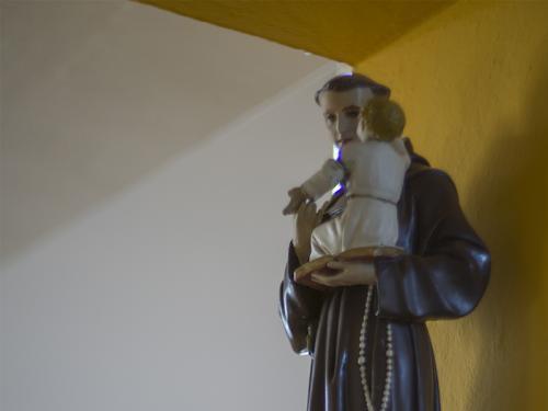 Interiér Kostola Povýšenia sv. Kríža v Duplíne.