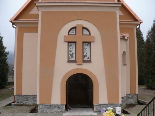 Rekonštrukcia fasády farského kostola