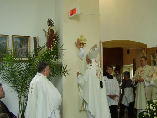 Vysviacka kostola Duplin 8